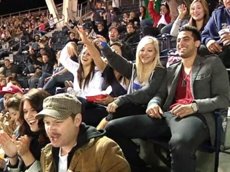Vavi Crowd at Petco: Raw Video