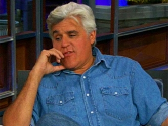 Leno Shows Off His New Set