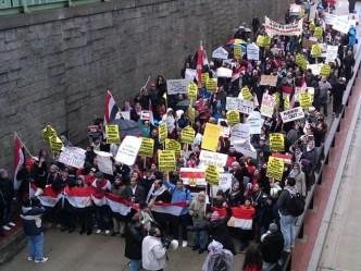 "Egyptian Crowd: ""The Regime Has Fallen"""