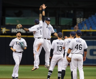 Padres Swept in Tampa