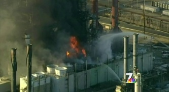 Refinery Fire Drives up Gas Prices