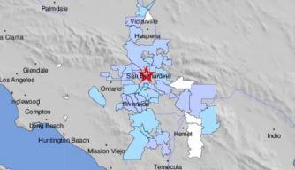 Magnitude-3.4 Earthquake Shakes San Bernardino Area