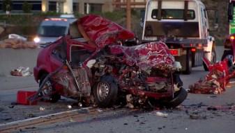 1 Killed, 1 Hurt in I-5 Wrong-Way Crash