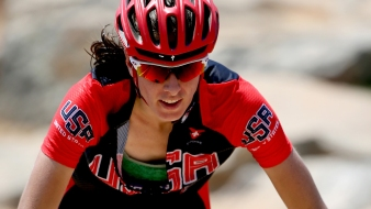 US Team's Davison a Mentor to Young Cyclists