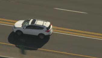 Pursuit Driver Flees Into Parking Structure
