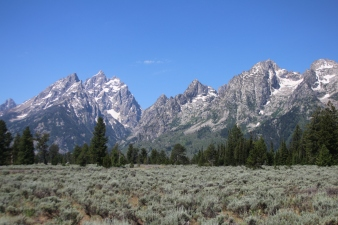 Seeing the Grand Tetons by Bike