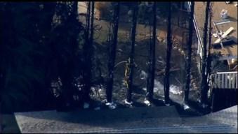 2 Santee Homes Evacuated as Trees Burn Nearby