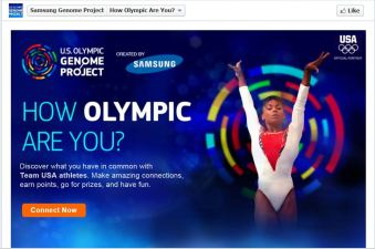 18 Olympians Sue Over Facebook App