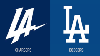 New Chargers Logo Draws Comparisons to Dodgers' Logo