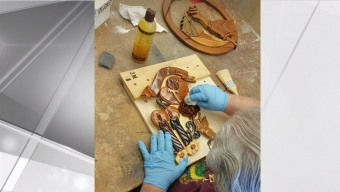 Local Veterans Create Woodworking Pieces to Compete in SD County Fair