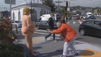 Naked Donald Trump Statues Pop Up in San Francisco, Los Angeles, New York