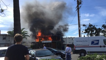 Local Dentist Office Goes Up in Flames, Smoke Seen for Miles