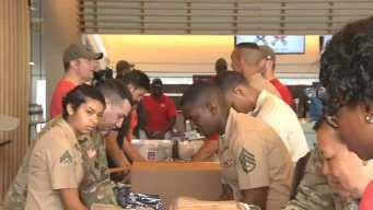 49ers, Raiders Team Up to Help Military