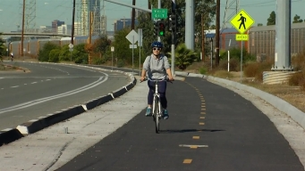 Construction Underway on Section of Bayshore Bikeway
