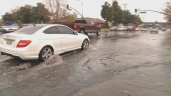 Heavy Downpours Create Messes and Floods in South Bay
