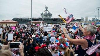 USS Carl Vinson Chooses Sailors of the Year