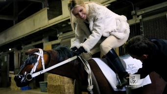 Jockey Training: Audrina Takes the Test