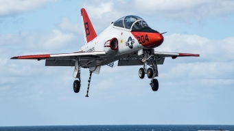 T-45C Fleet Temporarily Grounded Amid Pilots' Concerns: Navy
