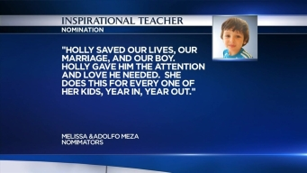 Inspirational Teacher: Holly Allen