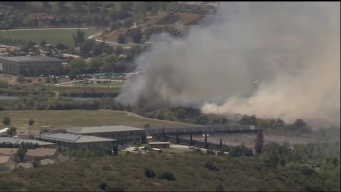 Crews Battle 4S Ranch Fire