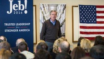 Jeb Bush Asks N.H. Audience to 'Please Clap'