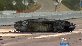 One Killed in Fiery I-8 East Crash