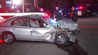 SDPD Car Involved in Collision in Lincoln Park