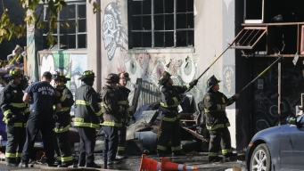 Officials Update Weekend Fire in Oakland Warehouse
