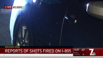 Vehicle-to-Vehicle Shooting Reported on I-805