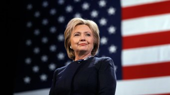 Clinton's Pledge: Steady Hand at 'Moment of Reckoning' <br />