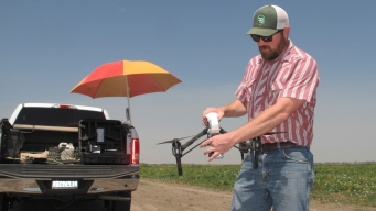 Drones Meet Drought in Skies of Storied California Farmland