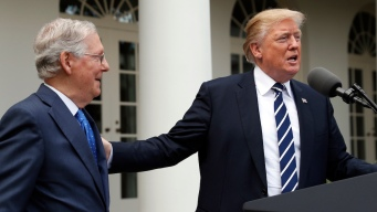 Trump and McConnell Say GOP Is 'Very Unified' After Meeting