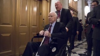 McCain Returning Home to Arizona, Will Likely Miss Tax Vote