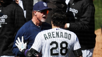 MLB Players Suspended After Coors Field Brawl