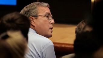 Jeb Bush Calls Father 'Stronger Than an Ox,' Talks Politics