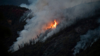 Smoke Blankets Yosemite Park But Trails and Lodges Are Open
