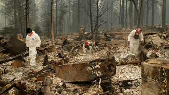 N. California Wildfire Death Toll at 56, Hundreds Missing