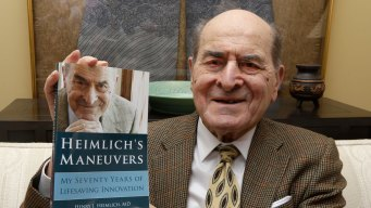 Dr. Heimlich, Now 96, Uses His Maneuver for 1st Time
