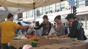 A Chef's Playground at the Santa Monica Farmer's Market