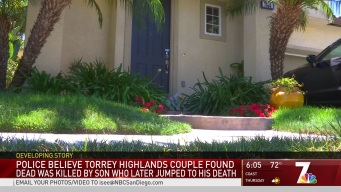SDPD Believes Torrey Highlands Couple Was Killed by Son