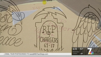 Chargers' Fans Get Rid of Gear, Tattoos After Move