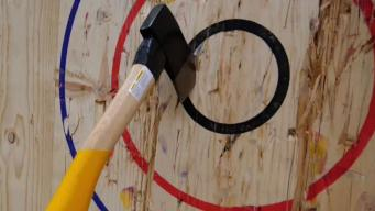 Axe-Throwing Is the New Rage