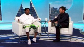 Shameik Moore Reveals Chris Brown's Influence to Harry
