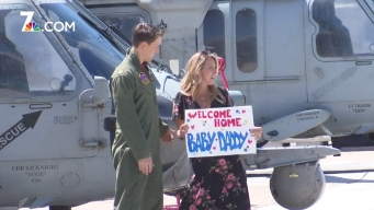 Welcome Home HSC-4 to NAS North Island