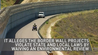 California Sues Over Border Wall