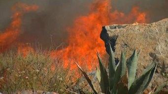 Bernardo Fire Cause: Construction Work