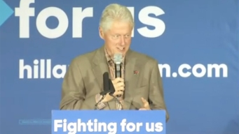 Bill Clinton Rallies in San Diego