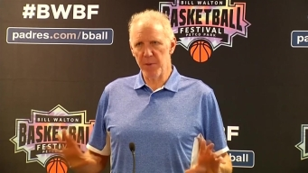 WATCH: Bill Walton Reacts to His Basketball Festival