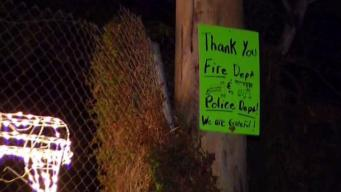 Bonsall Residents Find Ways to Thank Firefighters