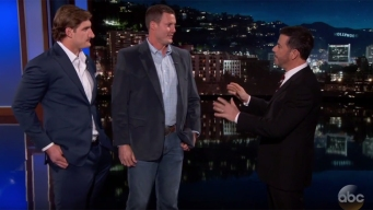 Rivers, Bosa Appear on Jimmy Kimmel